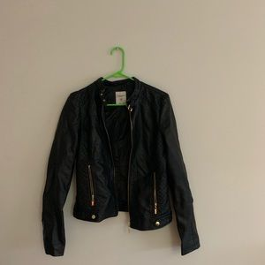 Must have black leather jacket